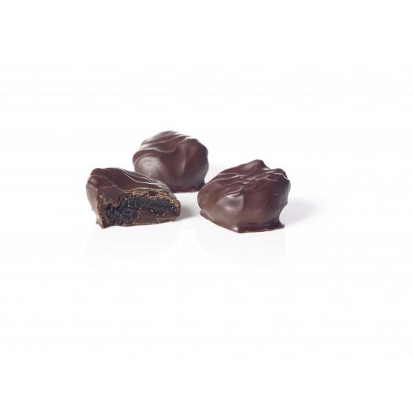Dark Chocolate Brandy Prunes