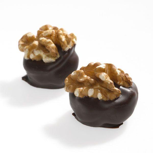 Dark Chocolate Walnut Creams