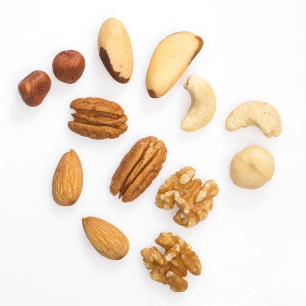 Raw Natural Mixed Nuts